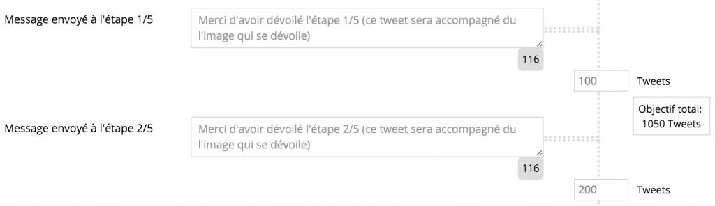 Configuration Jeu De Piste Twitter