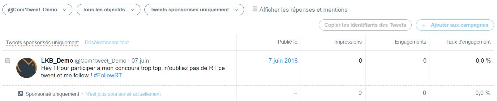 Dark Tweet nullcast