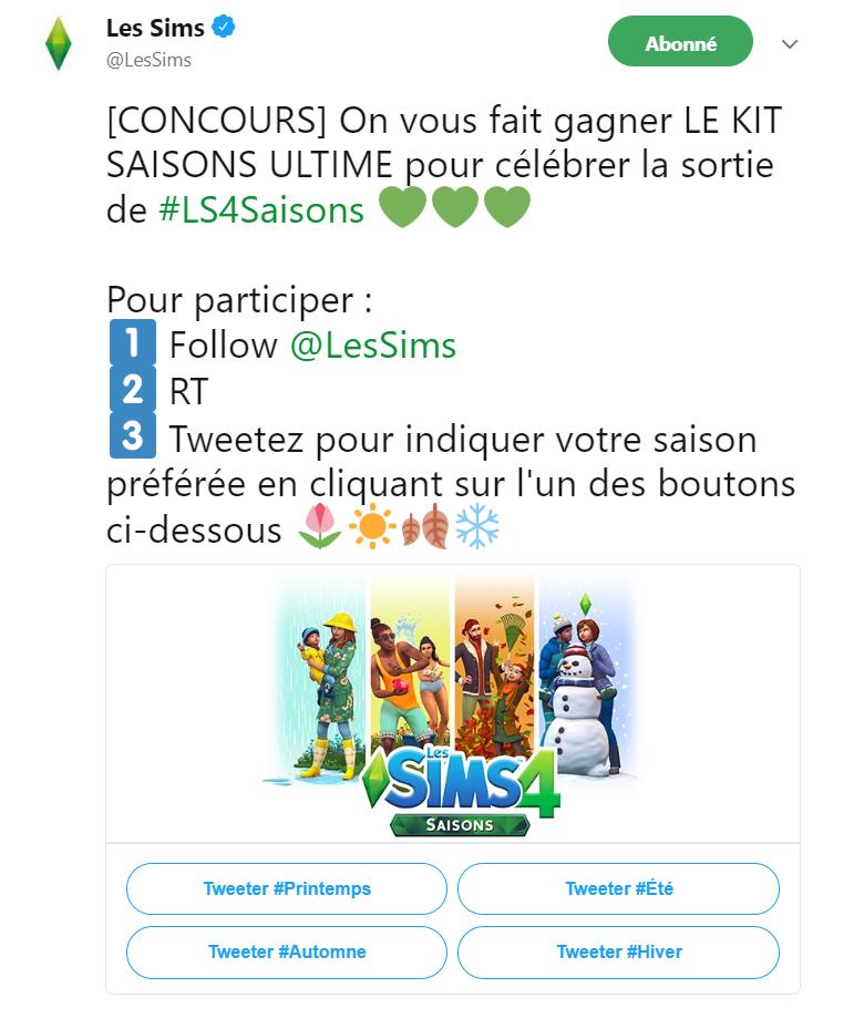 Sims™ 4 Saisons